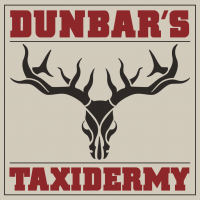 Dunbars Taxidery Logo Kahki Box web